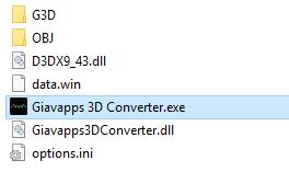 Giavapps 3D Converter