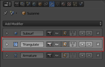 Triangulate Modifier